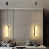 Lâmpada de pingente de cobre minimalista moderna com fio longo Dimmable LED teto pendurado luz para dormitório sala de estar lâmpadas de decoração
