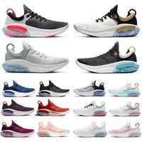 Ciudad de la velocidad Joyride Run Mens Running Shoes Summit White Light Silver Neur Oreo Platinum Tint Racer Hombres Azul Mujeres Entrenadores Deportes Zapatillas de deporte Universidad Sunset Rojo