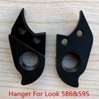 Bike Derailleurs 2pcs Bicycle MECH Dropout For Look 586 595 Rear Gear Derailleur Hanger Carbon Frame Extender Hook Frames Parts
