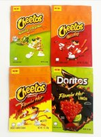 Customized Fchipps Edibles Mylar Package Bags Packaging For original Cheese Crunch Flamin limon Cheddar Edible Packages Resealable Zipper Lock Myla Bag
