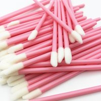 Disposable Lip Brush LipGloss Wands Applicator Makeup Cosmetic Tool Black Color MakeupBrush Supply LLE8603