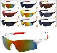 여름 야외 안경 남성 스포츠 태양 안경 운전 선글라스 자전거 유리 고글 여자 패션 안경 사이클링 안구 9 색 Y027