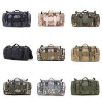 하이킹 야외 허리 가방 600D 방수 옥스포드 등반 어깨 가방 군사 전술 낚시 캠핑 파우치 가방 mochila bolsa 395 z2
