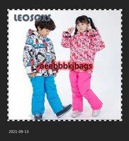 Лыжные лыжи LeoSoxs Детский Лыжный костюм 100-160 см Теплый Пальто Зимнее Ветер Водонепроницаемый Утолщенные Детские Хлопковые Открытые Куртки