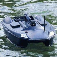 Nova atualização GRANDE GRANDE BAIT BARQUE 2 Hopper carpa How Pesca Post Automático Retorna GPS Posicionamento RC Barco de Brinquedo, Finder de Peixe X0522