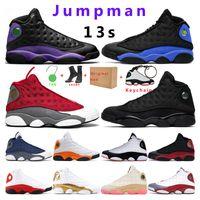 basketball shoes jumpman 13  Neue Mensbasketballschuhe 13s Red Flint Hyper Königs balck Katze Bred Spielplatz Mens Sport Sneaker Trainer sportlich Größe 7-13