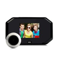 Smart home hidden electronic peephole Camera anti-theft video doorbell 3.0 inch Other CCTV Cameras 2021