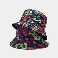 GRATIS DHL Moda Tie Dye Pescador Sombrero para hombres Mujeres Adulto Unisex Bucket Hats Spring Summer Beach Outdoor Travel Casual Cap Sunhat