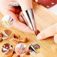 Criatividade Newhousehold Utility Pine Nut Tools Ferramentas de Aço Inoxidável Mão Guarda Pecan Clipe Chestnut Peeler 4 * 2.5cm