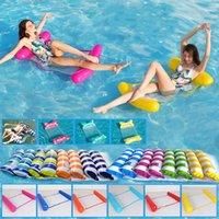 Бассейны надувные поплавки плавающие кровать воды гамак поплавок матрас шезлонг игрушки плавать крепкий