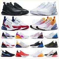 الأسلوب الكلاسيكي النساء الرجال الاحذية 270s الثلاثي أسود أبيض chaussures الأحمر bred يكون صحيح بالكاد روز الرجال المدربين في الهواء الطلق 27C الرياضة أحذية رياضية 36-45 # DSUV #