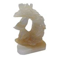 Regalo Cristal natural Misceláneo Piedra Talla Fox Estatua Cuarzo Gema Reiki Curación mineral Chakras Amuleto Decoración del hogar
