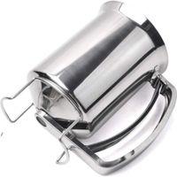 Dispensador de masa de la masa de panqueques de 900 ml Dispensador de masa de acero inoxidable Herramientas de pastelería para hornear pastel gofres gadgets accesorios de cocina NHD6072