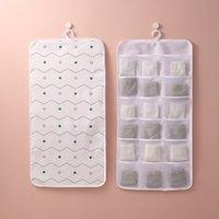Нетканое хранение ткани висит мешок нижнее белье Subdry стена за дверью гардероба