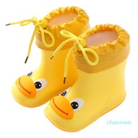 New Fashion Classic Childrens Shoes PVC Rubber Kids Baby Cartoon Shoes Childrens Water Shoes Waterproof Rain Boots