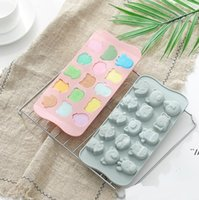 26 Letters Chocolate Mould Silicone Pudding Mold Ice Cube Maker Handwork DIY Cake Decoration Bakeware Kitchen Tools Baking Moulds DWB7038