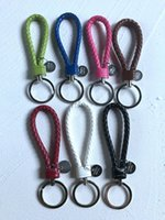 Solid Colors Keychain Key Chain Lanyard For Phone Case Wallet For Women Bag Charms Cars Keyring Key Ring