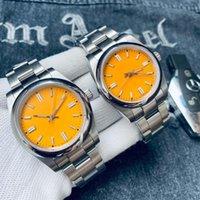 Nueva versión hombres mujeres pareja reloj sólido acero inoxidable relojes automáticos movimiento mecánico reloj de pulsera masculino 7 colores vestido causal reloj Montre