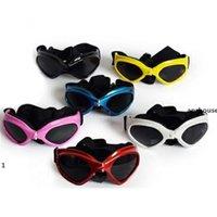 APRHOHOUSE الكلب نظارات جرو uv حماية النظارات الشمسية ماء القط نظارات الشمس أنيقة وممتعة الحيوانات الأليفة اللوازم