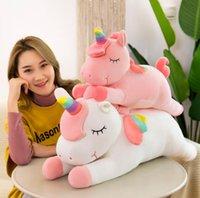 30 см Креативная плюшевая игрушка Большой размер Unicorn Куклы с детской подарочной веб-знаменитости подушка