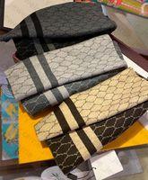 디자이너 스카프 Pashmina 스카프 캐시미어 편지 디자인 남자를위한 여성용 목도리 긴 목 7 색 최고 품질