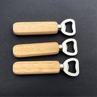 Деревянная ручка открывалка бутылки портативные открывающие пива бар кухня партия инструменты пива открывалка бутылки вина открывалка cyz3061