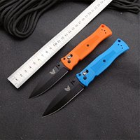 NEW Benchmade BM530 Tactical Camping Folding Knife 440C Blade Nylon Fiberglass Handle Self-defense Hunting Pocket Knives