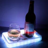 Kundenspezifische Logo LED Glow Tray Kunststoff Walzschale für Tabakaufbewahrungstablettaufladbare Raucher Servierplatte AHD785 528 R2