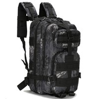Scione 1000D Military Outdoor Backpacks Tactical Camouflage Bags Waterproof Nylon Shoulder Pack For Unisex Hiking Travel Camping 201116