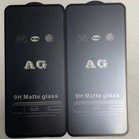 Verre de protecteur trempé de 9h AG Matte pour Samsung Galaxy A12 A02S EU US A02 M62 F62 M02S A72 A53 A32 4G 5G Couverture complète