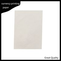216 * 279mm Printinng 75% Baumwolle 25% Leinenpass Gefälschter Stift Test Papier Hohe Qualität Verkauf in US NAN1
