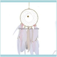 Figurines Aents Décor Home Gardenled Dream Catcher Cloud Feather Dreamcatcher Girl Birthday Gift Baby Room Decor Nordic Style Children Decal