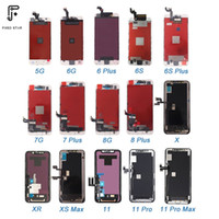 High quality replacement original touch display lcd screen oled for iphone 5 6 7 8 AAA mobile phone lcds