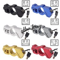 Theft Protection Auto Motorcycle Handlebar Horn Lock Grip Security Safety Locks For Scooter ATV Dirt Street Bikes