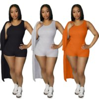 Sexy Sportswear Two Piece Set Tracksuits for Women Fitness One Piece Playsuit and Full Sleeve Cardigan Sweatsuit Female Clothes