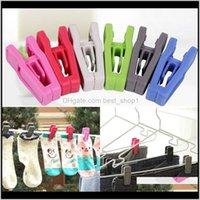 Otros productos de lavandería Reductidores de ropa Organización de limpieza Home Garden Drop Entrega 2021 Restable Tie Clip Universal Húmedo y seco Vestido
