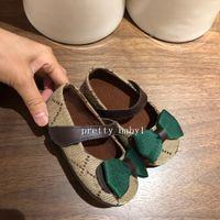 Niños zapatos de bebé de primera calidad diseño princesa lindos primeros caminantes niños pequeños chicas cuero bowknot zapatillas transpirar poco zapato casual