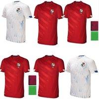 21 22 Panamá Futebol Jerseys Home Away Michael Murillo 2021 2022 Camisetas Eric Davis Alberto Quintero Aníbal Panamá Camisa de Futebol Uniformes Tailândia Top