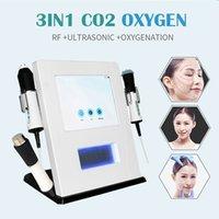 Suministro de fábrica! CO2 BURBUGE 3 EN 1 Máquina facial de Oxigen Jet Peel Oxigention para Máquinas de Belleza del Cuidado de la Piel