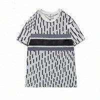 2021 남성 여성 디자이너 티셔츠 남성 S 캐주얼 티셔츠 비스듬한 남자 의류 Tshirt 반바지 소매 티셔츠 옷 Tshirts 20ss 새로운 63JV #