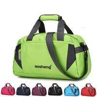 Outdoor Bags Fashion Men Women Training Gym Bag Nylon Ultralight Travel Sports For Fitness Yoga Handbag Short Trip Luggage -40