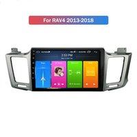 Lecteur DVD GPS de voiture à écran tactile de 10 pouces Android quadrious pour TOYOTA RAV4 2013-2018