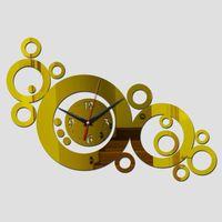 Wall Clocks Promotion Mirror 3d Diy Acrylic Clock Modern Design Watch Real Home Decor Novelty Safe