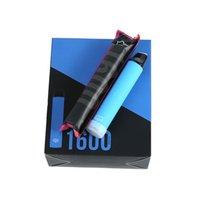 Puff xxl 52 Colori Cigarette Sigaretta 1600 Sfoglia PRE riempita Cartridge Vape Cartridge monouso VAPES BARS FLOW