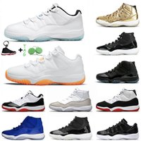 Nike Air Jordan Retro 11 Jordan11s Jumpman 11 11s Legend Blue Citrus Basketball Shoes Retro Moda Homens Mulheres  Esporte Sneakers Tamanho 36-47