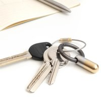 Tiny Schneidwerkzeug Tragbare Kapselschneider mit Keychain Ring scharfe Werkzeuge für Unboxing-Öffnungsdosen-Abisolieraufkleber 760 K2 FT7G SKR2