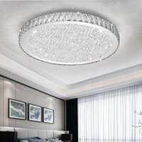 Pendant Lamps Luxurious LED Pendent Lights With Crystal Lampshade For Living Room Modern Amber Clear Lustres Dimming Foyer Lamp