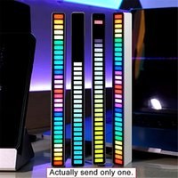 USB Lighting Best-selling model Rhythm Light RGB Voice Control Music Lamp LED Computer Car Atmosphere Pickup Lights with package pack by yourself