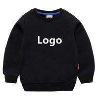 Printemps et automne Enfants Vêtements Sweat-shirt Pour Enfants Baby Designer Vêtements Garçons Garçons Gold Col Pullover Classic Imprimer Marque 2-8 ans