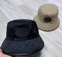 Womens G Letters Bucket Hat Lion 야외 와이드 브림 모자 Fedora 선 스크린 낚시 어부 사냥 모자 남자 분지 chapeau 태양 방지 모자